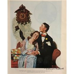 Fortune Teller - Norman Rockwell Lithograph