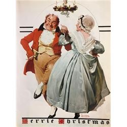 Moving In - Norman Rockwell Lithograph