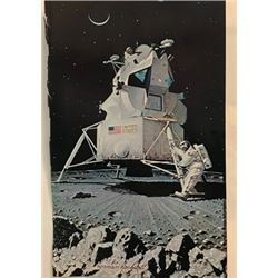 Space Mission - Norman Rockwell Lithograph
