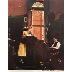 Letter To You - Norman Rockwell Lithograph