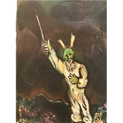 Wizard Wand - Marc Chagall Lithograph
