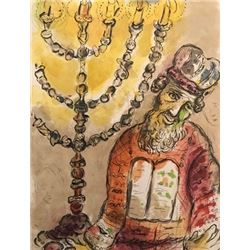 Candels - Marc Chagall Lithograph