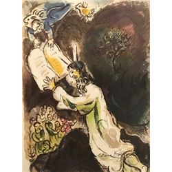 Sharing Scripture - Marc Chagall Lithograph