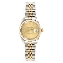 Rolex Datejust 18k rose gold Men