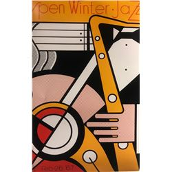 "Roy Lichtenstein""Aspen Winter Jazz"""