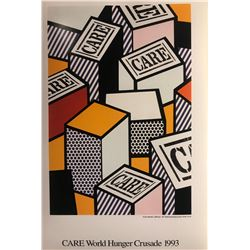 "Roy Lichtenstein""Care World Hunger Crusade"""