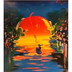"Peter Max""With out Boarders""Hand Signed"