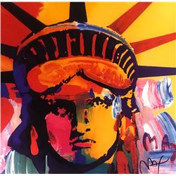 "Peter Max""Liberty Head""Hand Signed"
