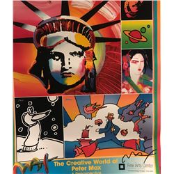"Peter Max""The Creative World Of Peter Max""Hand Signed"