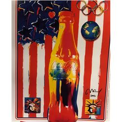 "Peter Max""Cola Cola""Hand Signed"