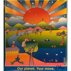 "Peter Max""Our Planet""Hand Signed"