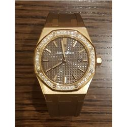 Audemar Piguet Womens 18k with Diamond Bezel