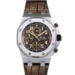 Audemar Piguet With Hand Stiched Alligator Strap