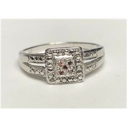 Elegant White Gold Ruby Ring(cts)