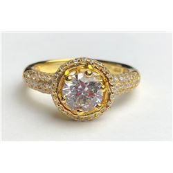Ravishing 18k Diamond Ring(cts)