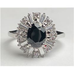 Beautiful Black Diamond Ring(cts)
