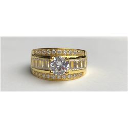 Stunning 18k Diamond Ring(cts)