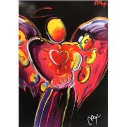 """Peter Max""""Angels""""Hand Signed"""