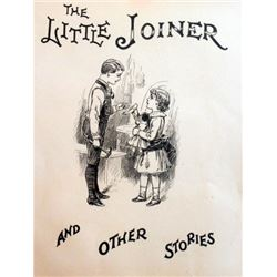 """Vintage Lithograph""""The Little Joiner"""" And Other Stories"""