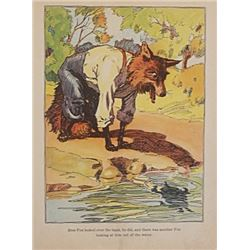Vintage Lithograph Hand Signed