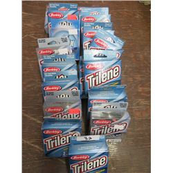 TRILENE Cold weather line - Qty 17 pkgs. 2 & 3 lb.