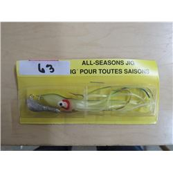ALL SEASON jigs, qty 25