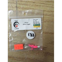 TNA lures qty 21, box of hooks, 9 various lures
