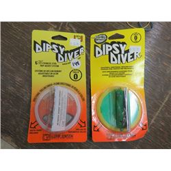 DIPSY Diver Stainless steel trip adjust system size 0