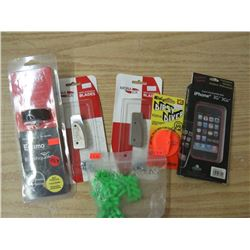 VIPER self Venting Gas Cap, Mora Ice Blades, Dipsy Diver trip adjust size 3, Iphone 3G cover, 1 pkg