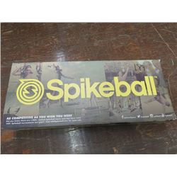 SPIKEBALL game for 2 teams of 2 players, returned