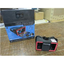 VIRTUAL Reality headset, compatible with Iphone & Android, returned