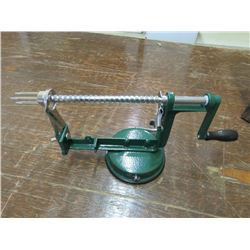 LEM Apple peeler, 1/4' slices, peels, cores, slices, returned