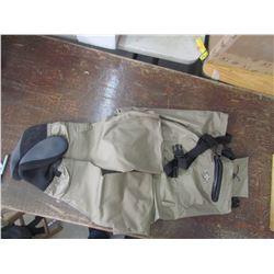 WHITE RIVER breathable men's waders Size Med., returned