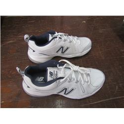 NEW BALANCE white trainers, size 9, new