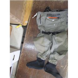 FROGGTOGGS, breathable stocking foot waders, size XL, returned