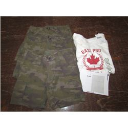 KIDS 3 pair shorts Size 2t, 1 Tshirts 1XS, returned