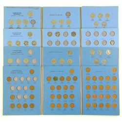 Lot - Estate Coin Books, Partial Collections.