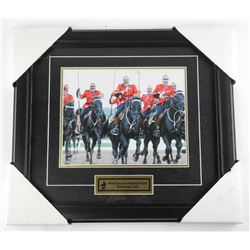 RCMP 8x10 Litho 'The Change' Gallery Frame