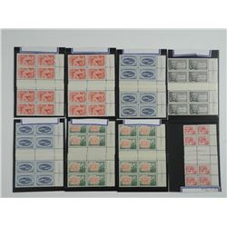 Lot Canada Stamps 1967 - Blocks.