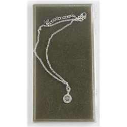 Estate Designer Pendant and Chain 5.00ct Solitaire