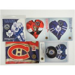 Lot (5) RCM - Hockey Issues - Includes UNC Coins,