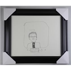 John Lennon Litho 'The Vigar in the Telly' Gallery