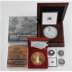 Canadian History Collection - .9999 Fine Silver an