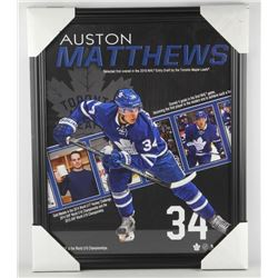 "Auston Matthews 16x20"" Collector Frame"