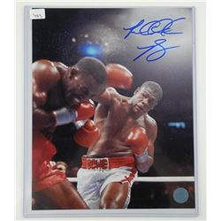 Boxing Photo - 8x10 Signed with C.O.A.