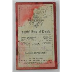 Imperial Bank of Canada 1800-1900s