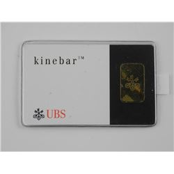 .9999 Fine Pure Gold Bar with Serial Number 2 Gram