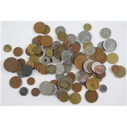 Estate Lot - World Coin Unscratched.
