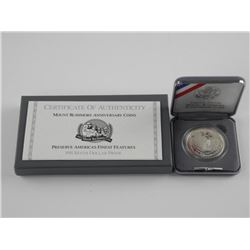 USA Silver Proof Dollar 1991 Mount Rushmore MS70.