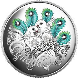 .9999 Fine Silver $10.00 Coin 'Celebration of Love